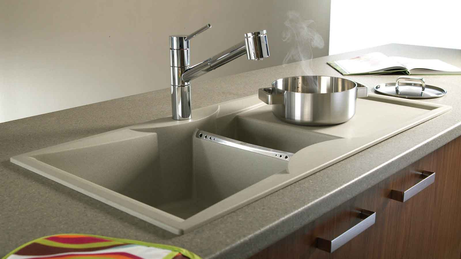 Kitchen sink appliances kitchen appliances sinks u taps for Cheap bathroom appliances